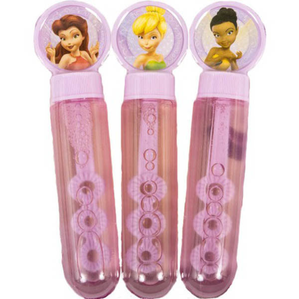 Disney Fairies 3 pc Bubble Tube Set