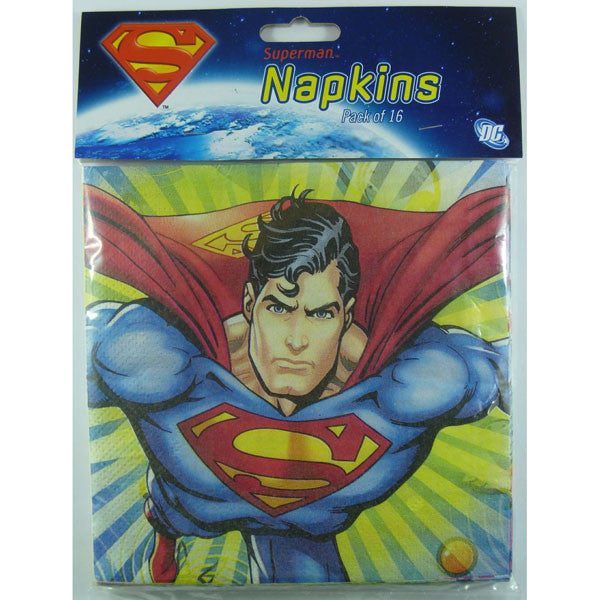 Superman Luncheon Napkins,