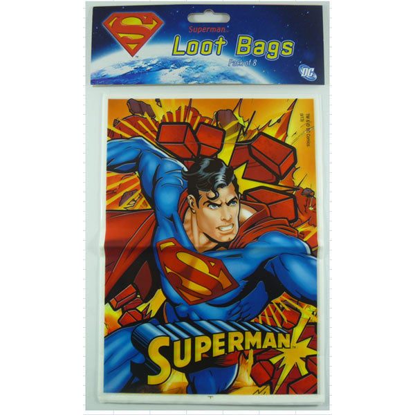Superman Loot Bags,
