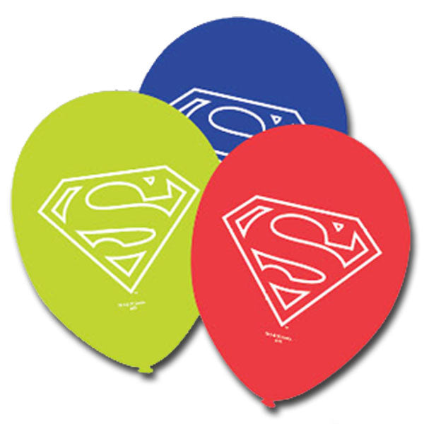 Superman Latex Balloons,