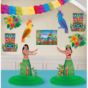Decorating Kit Luau - Contains 4 Cutouts
