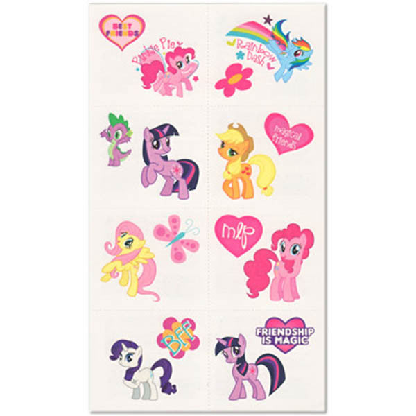 My Little Pony Friendship Tattoos