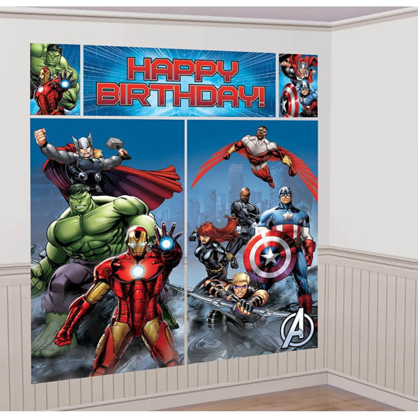 Avengers Scene Setter Wall Decorating Kit