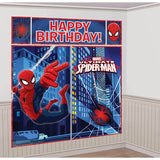 Scene Setter Spiderman Wall Decorating Kit