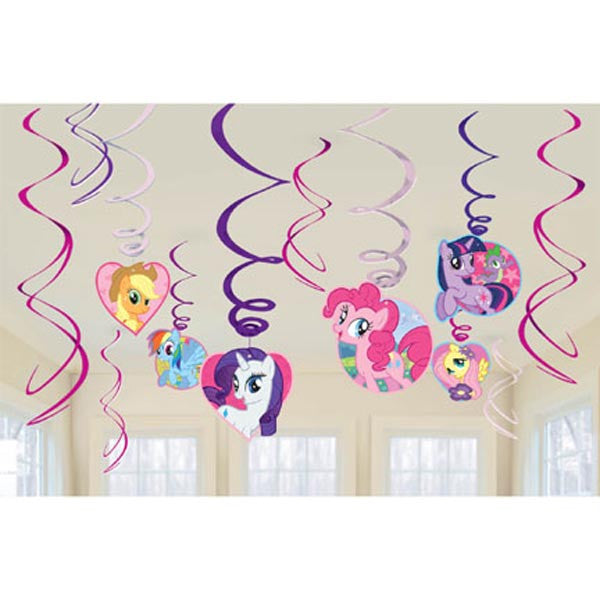 Hanging Swirls My Little Pony Value Pack