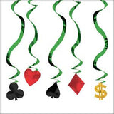 Hanging Decoration Casino Swirls