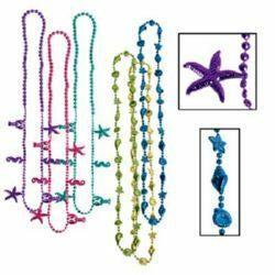 Necklace Beads Luau Tropical
