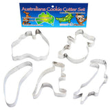 Cookie Cutters Australiana, Rust Resistant & Dishwasher Safe