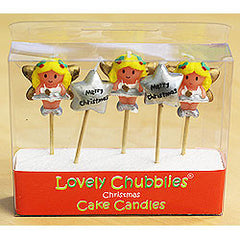 !! Candles Christmas Fairy Gold Wings