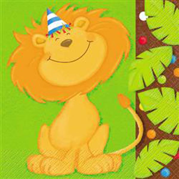 Jungle Party Lunch Napkin 2 Ply