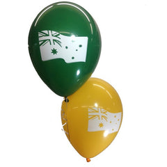 28cm Australian Flag Goldenrod / Std Green