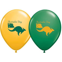 28cm Australia Day Green & Goldenrod.