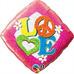 45cm Love Peace Sign