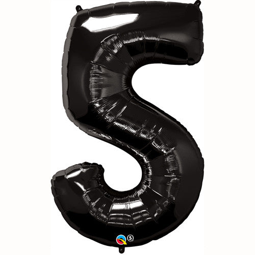 Shape Number Five Black