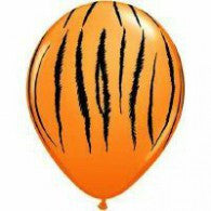 28cm Tiger Stripes on Orange.