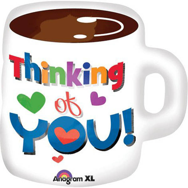 Shape Thinking of You Coffee Cup 58cm