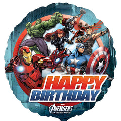 45cm Avengers Animated Birthday