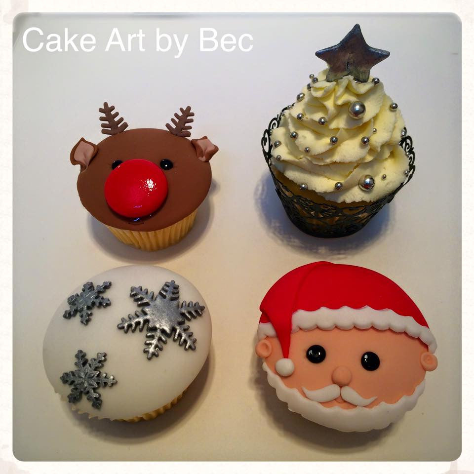 14 December Decorating Class: Christmas Cupcakes
