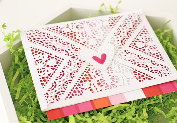 Doily Envelope - Nice and Neat Die