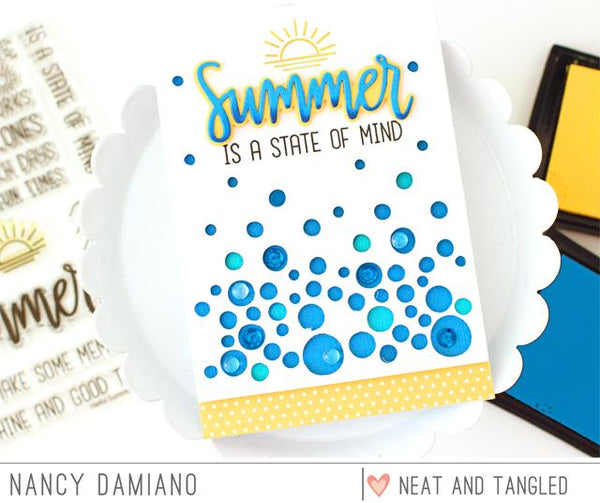 Hello Summer - Nice and Neat Dies