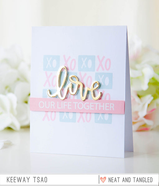 Love Notes - Nice and Neat Dies