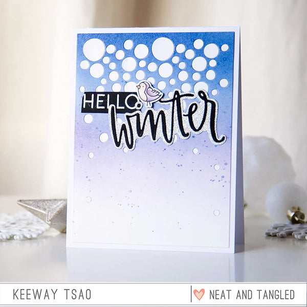 Hello Winter - Nice and Neat Dies