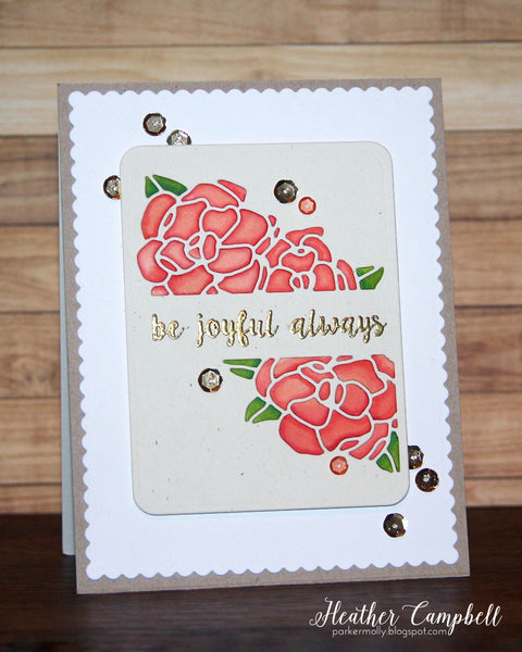 Gardenia Blooms Journaling Card
