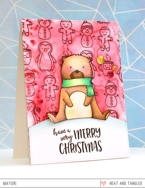 Beary Merry - Nice and Neat Dies