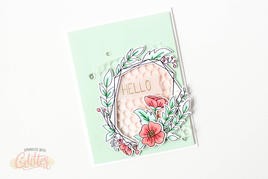Floral Frame | Neat and Tangled