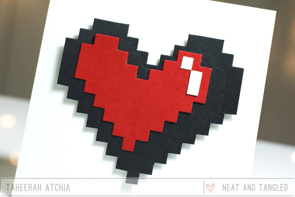 Pixelated Heart Die