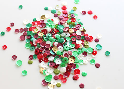 Classic Christmas Sequin Mix