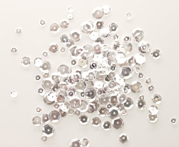 Neat & Tangled CRYSTAL CLEAR SEQUIN MIX