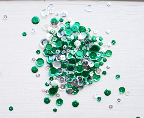 Frosted Pine Sequin Mix