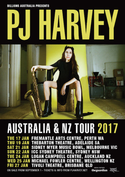 PJ Harvey AND Patti Smith Tour in 2017