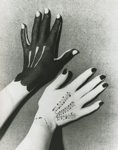 hands by picasso and man ray