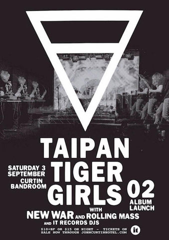 taipan tiger girls album launch