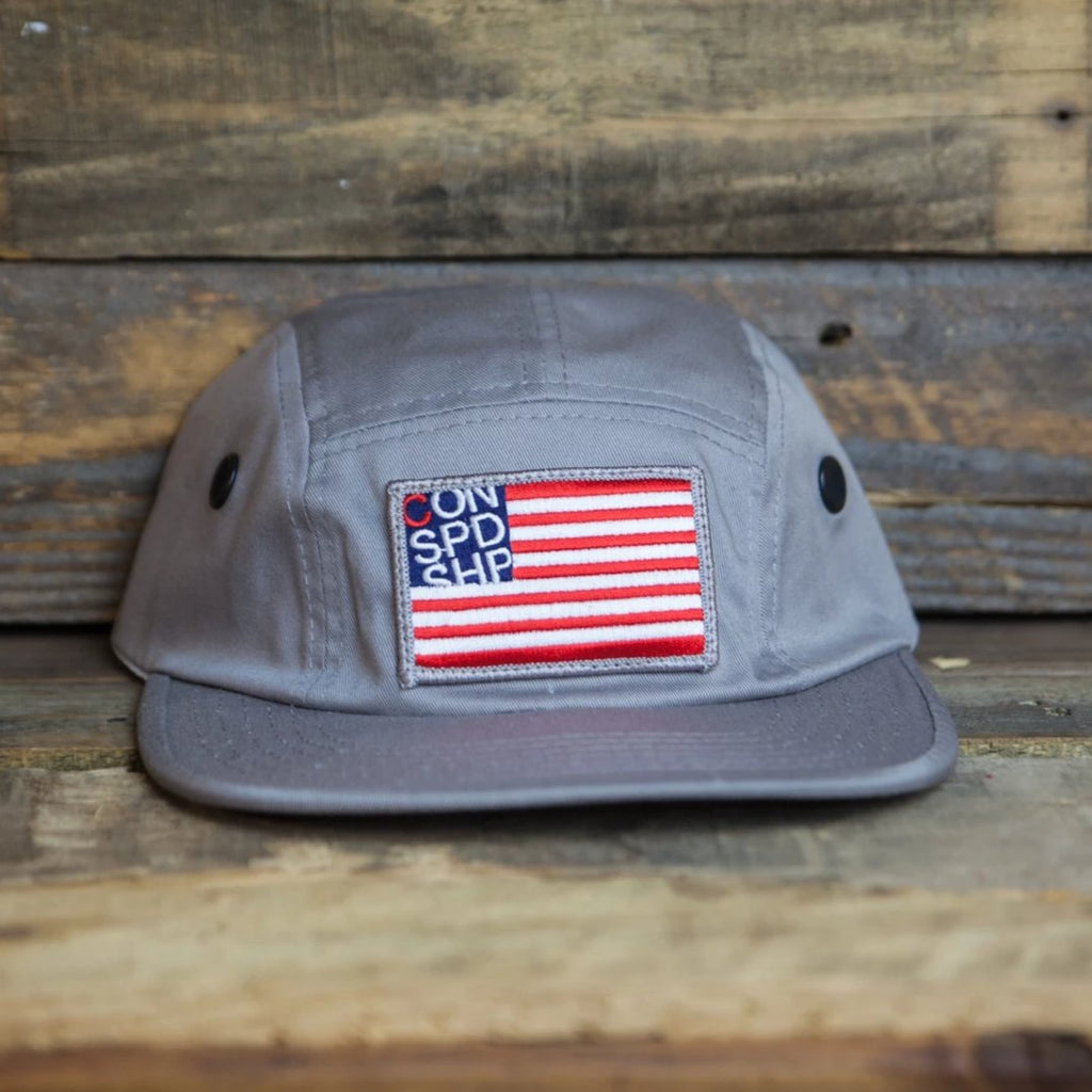 Merica / Gray Dad Cap