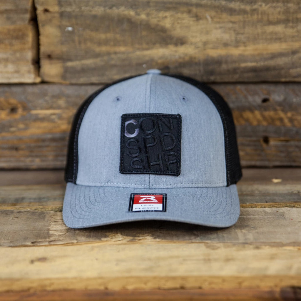 INCOG / Gray Flexfit Trucker