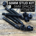 68mm Race Stud Kit  - M14×1.5