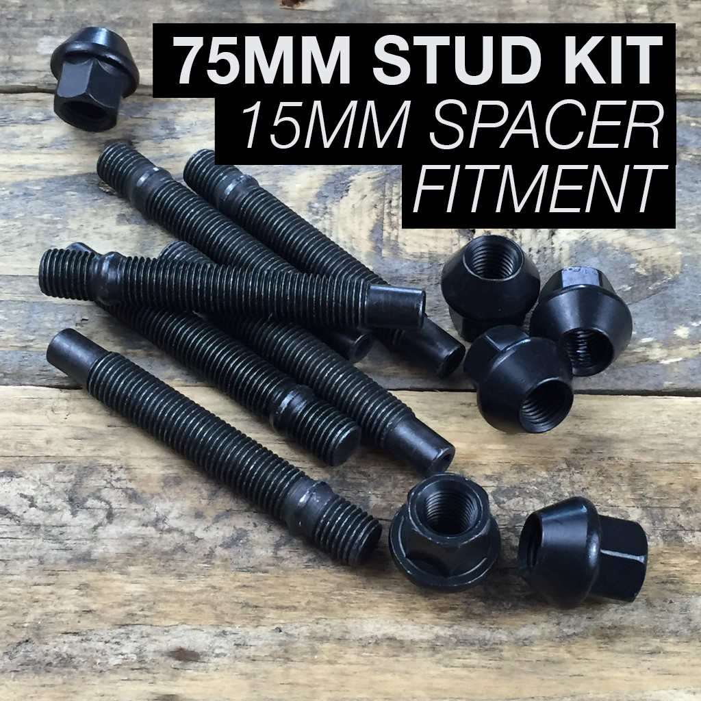 75mm Race Stud Kit - M14×1.5