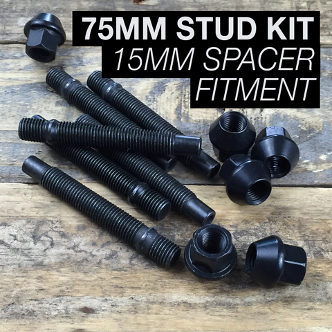 75mm Race Stud Kit - M14×1.25