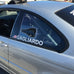 Polycarbonate Rear Side Window Kit-E46 Coupe