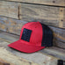INCOG / Red Flexfit Trucker