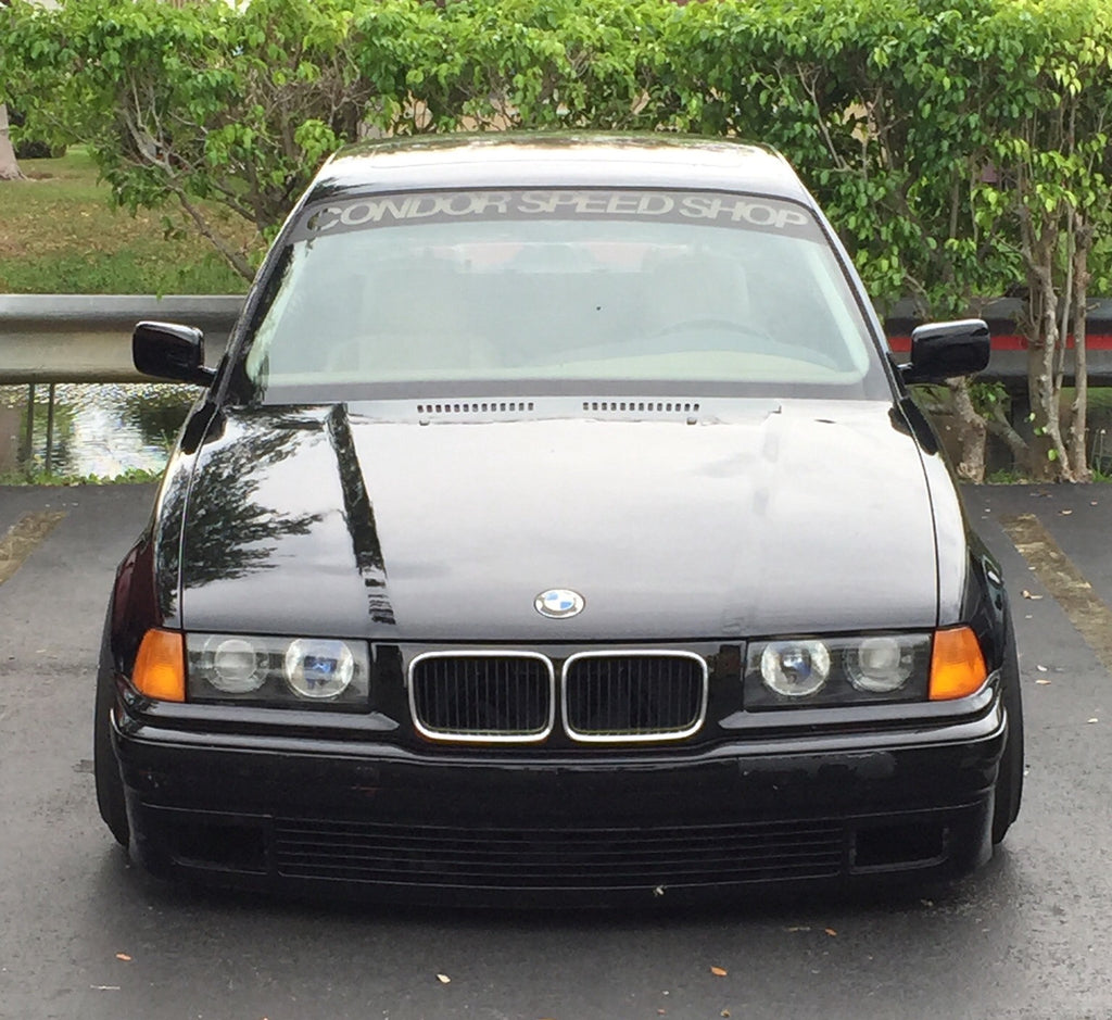 Condor Speed Shop Reverse E36 Windshield Banner
