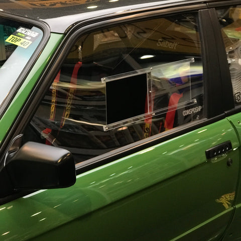 Polycarbonate Door Windows w/slider Kit - E30 Coupe