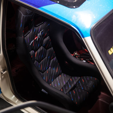 OMP WRC-R Seat with M-Rain Pattern