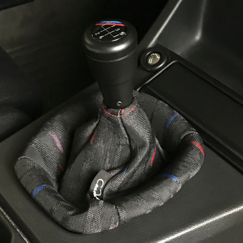 Shift Boot with M-Hurricane Pattern