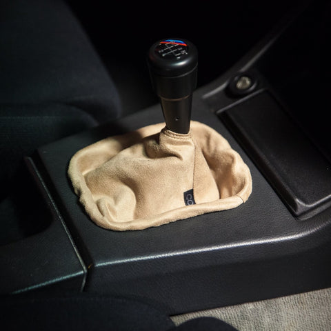 Tan Suede Shift Boot