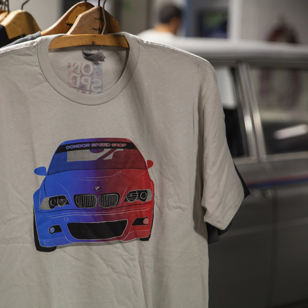 E46 Motorsport T-Shirt - Light Gray