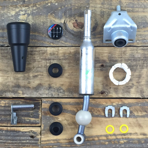"Condor ""Shorty"" Knob 24v Swap Short Shift Kit - E30"